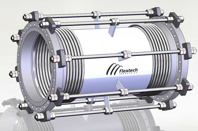 Metallic Bellows Expansion Joints | Flextech Industries